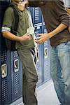 Teenage boy bullying classmate and stealing his money Stock Photo - Premium Royalty-Free, Artist: Raoul Minsart, Code: 632-03630199