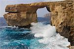Azure Window, Gozo, Malta Stock Photo - Premium Royalty-Free, Artist: Jon Arnold Images, Code: 618-03632512