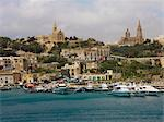 View to Mgarr, Gozo, Malta Stock Photo - Premium Royalty-Free, Artist: Robert Harding Images, Code: 618-03632528