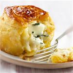 Cheese pie Stock Photo - Premium Royalty-Free, Artist: Westend61, Code: 652-03635414