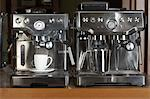Automatic Espresso Machines Stock Photo - Premium Rights-Managed, Artist: Michael Mahovlich, Code: 700-03638681