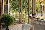 Wicker Furniture On Porch Stock Photo - Premium Rights-Managed, Artist: Natasha Nicholson, Code: 700-03638851