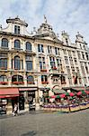 Guild Houses, Grand Place, Brussels, Belgium Stock Photo - Premium Rights-Managed, Artist: Siephoto, Code: 700-03638913