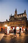 Maison du Roi at Night, Grand Place, Brussels, Belgium Stock Photo - Premium Rights-Managed, Artist: Siephoto, Code: 700-03638917