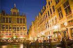 Grand Place at Night, Brussels, Belgium Stock Photo - Premium Rights-Managed, Artist: Siephoto, Code: 700-03638920