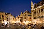 People in Grand Place, Brussels, Belgium Stock Photo - Premium Rights-Managed, Artist: Siephoto, Code: 700-03638921