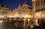 People in Grand Place, Brussels, Belgium Stock Photo - Premium Rights-Managed, Artist: Siephoto, Code: 700-03638922