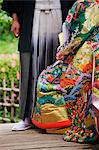 Traditional Japanese Wedding Outfits, Hiroshima, Hiroshima Prefecture, Chugoku Region, Honshu, Japan Stock Photo - Premium Rights-Managed, Artist: Jeremy Woodhouse, Code: 700-03638969