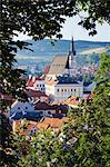 Cesky Krumlov, South Bohemian Region, Bohemia, Czech Republic Stock Photo - Premium Rights-Managed, Artist: Jeremy Woodhouse, Code: 700-03639005