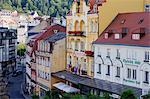 Karlovy Vary, Karlovy Vary Region, Bohemia, Czech Republic Stock Photo - Premium Rights-Managed, Artist: Jeremy Woodhouse, Code: 700-03639013