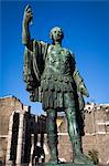 Statue of Julius Caeser, The Forum, Rome, Italy Stock Photo - Premium Rights-Managed, Artist: R. Ian Lloyd, Code: 700-03639101