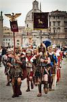 Historical Re-enactment to Celebrate the Founding of Rome on April 21, 753 BC, Rome, Italy Stock Photo - Premium Rights-Managed, Artist: R. Ian Lloyd, Code: 700-03639106