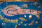 Map of Venice, The Map Room, Vatican Museum, Vatican City, Rome, Italy Stock Photo - Premium Rights-Managed, Artist: R. Ian Lloyd, Code: 700-03639131
