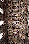 The Sistine Chapel, Vatican Museum, Vatican City, Rome, Italy