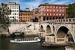 Ponte Sisto, Trastevere, Rome, Italy Stock Photo - Premium Rights-Managed, Artist: R. Ian Lloyd, Code: 700-03639207