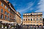 Piazza in Trastevere, Rome, Italy