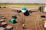 Aer Lingus Planes, Dublin Airport, Co Dublin, Ireland Stock Photo - Premium Rights-Managed, Artist: IIC, Code: 832-03639377