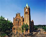 Guildhall, Derry (Londonderry) City, Ireland Stock Photo - Premium Rights-Managed, Artist: IIC, Code: 832-03639414