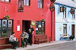 Traditional Musicians, O'neills Pub, Allihies, Co Cork, Ireland Stock Photo - Premium Rights-Managed, Artist: IIC, Code: 832-03639459