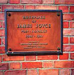 Birthplace Of James Joyce, 41 Brighton Square, Rathgar, Co Dublin, Ireland Stock Photo - Premium Rights-Managed, Artist: IIC, Code: 832-03639511