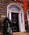 Fitzwilliam Square, Dublin, Co Dublin, Ireland; Georgian Door Stock Photo - Premium Rights-Managed, Artist: IIC, Code: 832-03639750