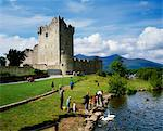 Ross Castle, Co Kerry, Ireland Stock Photo - Premium Rights-Managed, Artist: IIC, Code: 832-03639766