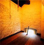Kilmainham Gaol, Dublin, Co Dublin, Ireland, Hanging Cell Stock Photo - Premium Rights-Managed, Artist: IIC, Code: 832-03639921