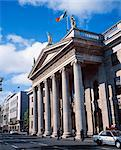 General Post Office, Dublin, Ireland; Exterior View Of The General Post Office Built In 1818 Stock Photo - Premium Rights-Managed, Artist: IIC, Code: 832-03640371
