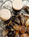 Traditional Irish Guiness And Oysters, Ireland Stock Photo - Premium Rights-Managed, Artist: IIC, Code: 832-03640605