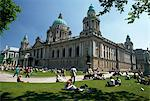 City Hall, Belfast, Co Antrim, Ireland Stock Photo - Premium Rights-Managed, Artist: IIC, Code: 832-03640791