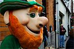 Dublin, Ireland; A Leprechaun On The Street For Saint Patrick's Day Stock Photo - Premium Rights-Managed, Artist: IIC, Code: 832-03640971
