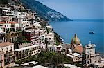 View of Positano on Amalfi Coast, Campania, Italy Stock Photo - Premium Rights-Managed, Artist: R. Ian Lloyd, Code: 700-03641051
