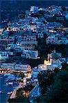 View of Positano at Night, Campania, Italy Stock Photo - Premium Rights-Managed, Artist: R. Ian Lloyd, Code: 700-03641109