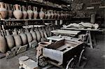 Pots and Mummified Remains, Pompeii, Campania, Italy Stock Photo - Premium Rights-Managed, Artist: R. Ian Lloyd, Code: 700-03641119