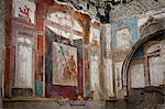 Fresco at Herculaneum, Campania, Italy Stock Photo - Premium Rights-Managed, Artist: R. Ian Lloyd, Code: 700-03641127