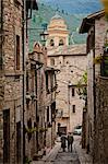 Cobblestone Street in Spello, Umbria, Italy Stock Photo - Premium Rights-Managed, Artist: R. Ian Lloyd, Code: 700-03641144