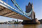 Tower Bridge over River Thames, London, England Stock Photo - Premium Rights-Managed, Artist: F. Lukasseck, Code: 700-03641331