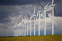 Wind Farm, La Mancha, Albacete, Castilla-La Mancha, Spain Stock Photo - Premium Rights-Managednull, Code: 700-03643125