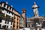 Madonna Verona in Piazza delle Erbe, Verona, Veneto, Italy Stock Photo - Premium Rights-Managed, Artist: R. Ian Lloyd, Code: 700-03644406