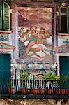 Mural, Piazza delle Erbe, Verona, Veneto, Italy Stock Photo - Premium Rights-Managed, Artist: R. Ian Lloyd, Code: 700-03644408