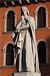 Statue of Dante, Piazza dei Signori, Verona, Veneto, Italy Stock Photo - Premium Rights-Managed, Artist: R. Ian Lloyd, Code: 700-03644415