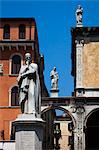 Statue of Dante, Piazza dei Signori, Verona, Veneto, Italy Stock Photo - Premium Rights-Managed, Artist: R. Ian Lloyd, Code: 700-03644416