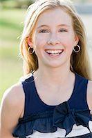 preteen girl - Portrait of Girl Stock Photo - Premium Rights-Managednull, Code: 700-03644537
