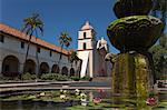 Mission Santa Barbara, Santa Barbara, California, USA Stock Photo - Premium Rights-Managed, Artist: Damir Frkovic, Code: 700-03644868
