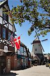 Windmill and Street Scene, Solvang, Santa Barbara County, California, USA Stock Photo - Premium Rights-Managed, Artist: Damir Frkovic, Code: 700-03644877