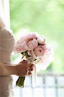 special moment - Bride holding Bouquet Stock Photo - Premium Royalty-Freenull, Code: 600-03644900