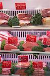 Meat in Display Case, St Tropez, Var, Provence, Provence-Alpes-Cote d'Azur, France Stock Photo - Premium Royalty-Free, Artist: photo division, Code: 600-03644947