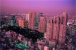 Japan,Tokyo,Shinjuku,Shinjuku Area Skyline with Tokyo Gas Buildings and Tokyo City Hall in the Foreground Stock Photo - Premium Rights-Managed, Artist: Asia Images, Code: 849-03645073