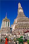 Thailand,Bangkok,Wat Arun,Temple of Dawn Stock Photo - Premium Rights-Managed, Artist: Asia Images, Code: 849-03645205
