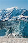 View of ice calving off the face of Surprise Glacier, Harriman Fjord, Prince William Sound, Southcentral Alaska, Summer Stock Photo - Premium Rights-Managed, Artist: AlaskaStock, Code: 854-03646773